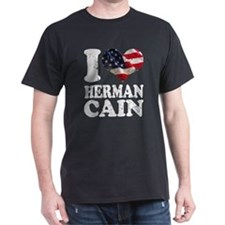 I heart American Flag Herman T-Shirt