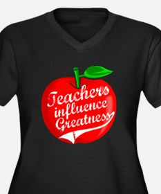 Education Teacher School Women's Plus Size V-Neck