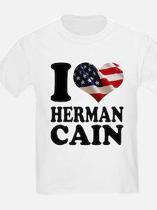 I heart American Flag Herman T-Shirt
