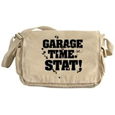 Garage Time. Stat! Messenger Bag
