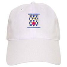 DUI - 1st Bn - 16th Infantry Regt with Text Baseball Cap