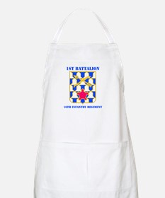 DUI - 1st Bn - 16th Infantry Regt with Text Apron