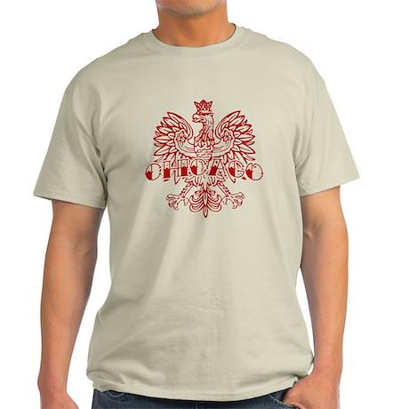 Chicago Polish White Ink Light T-Shirt