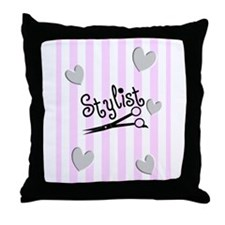 Stylists Throw Pillow