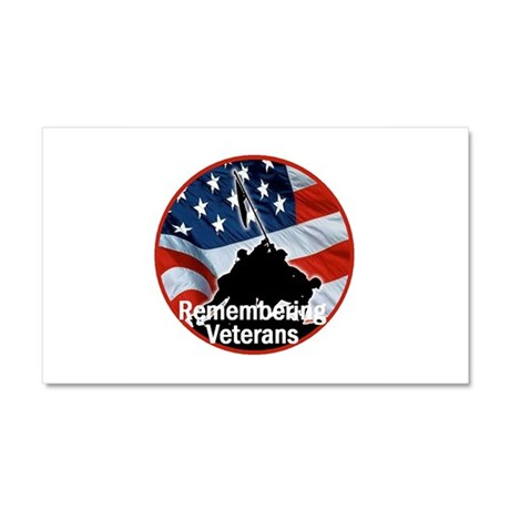 Veterans Car Magnet 20 x 12