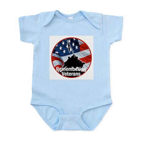 Veterans Infant Bodysuit