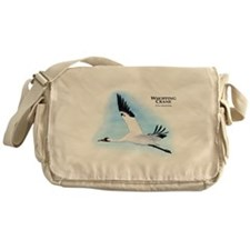 Whooping Crane Messenger Bag