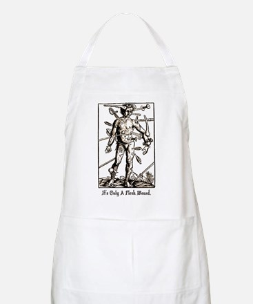 It's Only A Flesh Wound Apron