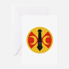 SSI - 210th Fires Brigade Greeting Card