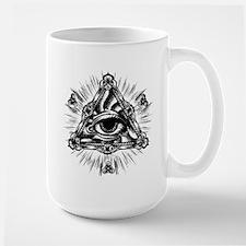 All Seeing Eye Large Mug