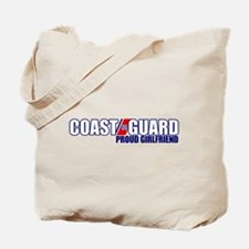 USCG Girlfriend Tote Bag