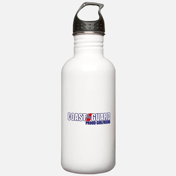 USCG Girlfriend Water Bottle
