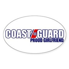 USCG Girlfriend Decal