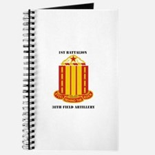 1st Battalion, 38th Field Artillery with Text Jour