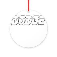 New DODGE Ornament (Round)