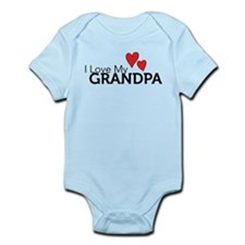Funny I love my cavalier Infant Bodysuit