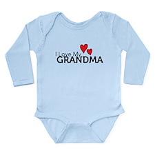 I Love My Grandma Baby Outfits