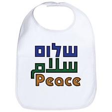 Shalom Salaam Peace Bib