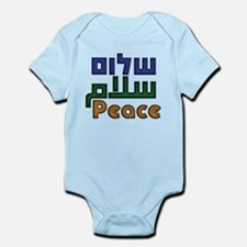Shalom Salaam Peace Infant Bodysuit