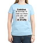 Entitled Women's Light T-Shirt