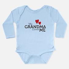 My Grandma Loves Me Long Sleeve Infant Bodysuit