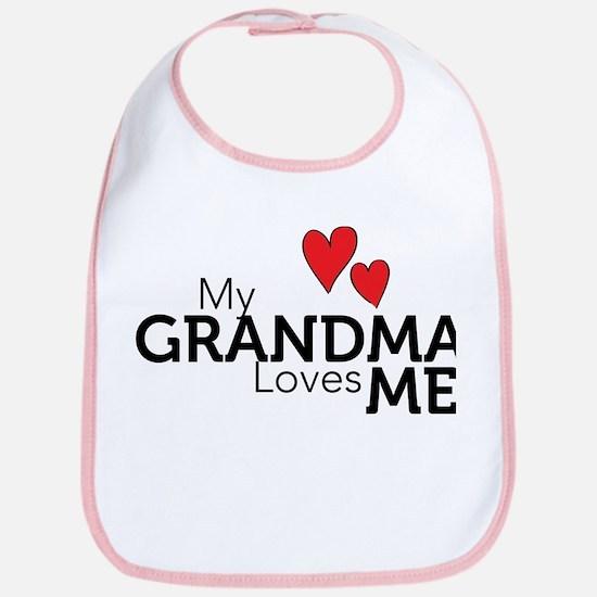 My Grandma Loves Me Bib