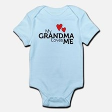 My Grandma Loves Me Infant Bodysuit