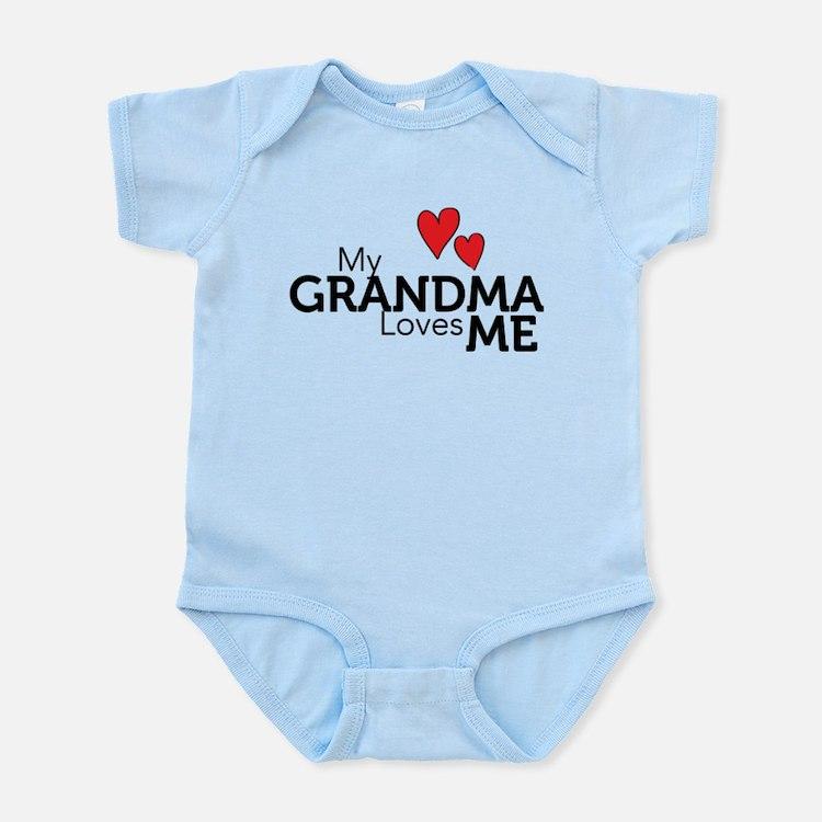 My Grandma Loves Me Infant Bodysuit