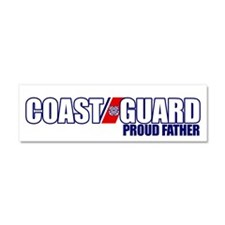 USCG Father Car Magnet 10 x 3
