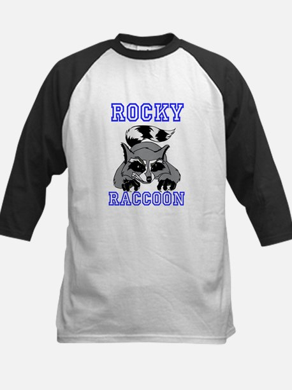 Rocky Raccoon Kids Baseball Jersey