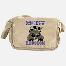Rocky Raccoon Messenger Bag