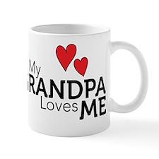My Grandpa Loves Me Mug