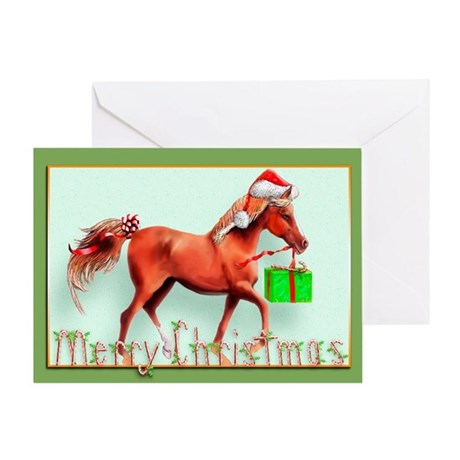 Red Delivery (D) Greeting Card