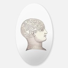Victorian Phrenology Decal