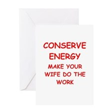 funny male chauvinist pig Greeting Card