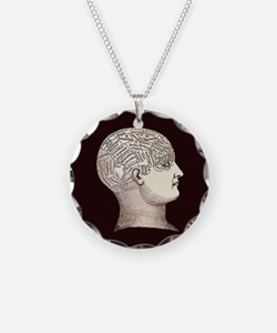 Victorian Phrenology Necklace