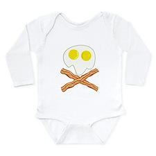 Breakfast Pirate Long Sleeve Infant Bodysuit