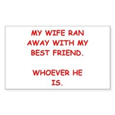 funny male chauvinist pig Decal