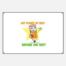 Rest Before the Test Banner