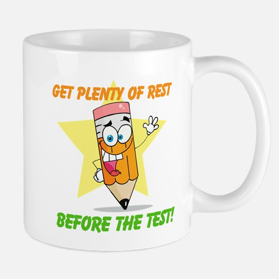 Rest Before the Test Mug