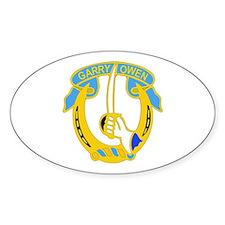 DUI - 4th Sqdrn - 7th Cavalry Regt Decal