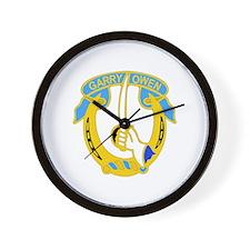 DUI - 4th Sqdrn - 7th Cavalry Regt Wall Clock