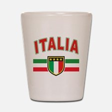 italian pride Shot Glass