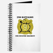 DUI - 2nd Bn - 9th Infantry Regt with Text Journal