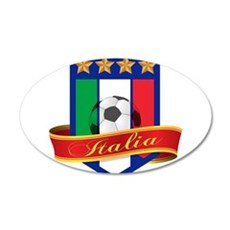italia 22x14 Oval Wall Peel