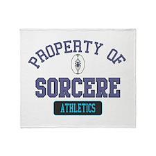 Property of Sorcere Throw Blanket