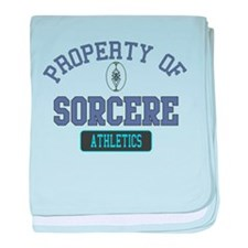 Property of Sorcere baby blanket