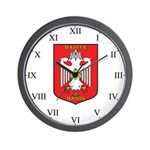 Masonic 33rd degree Wall Clock- white eagle