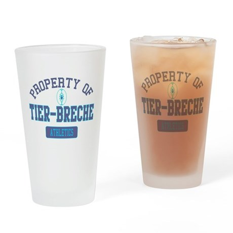 Property of Tier-Breche Drinking Glass