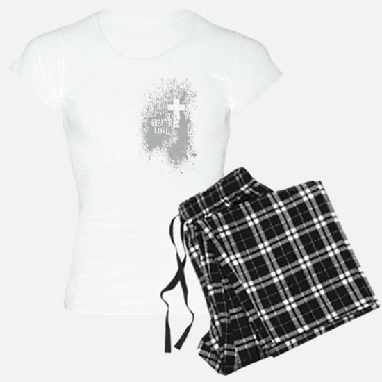 Debt Free Black and White Pajamas